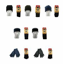 Glowzone Men's Heated Accessories, Warm Winter Hats Gloves, Outdoor Work