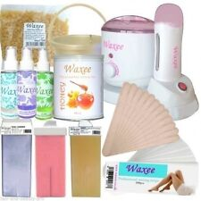 Professional Waxing Kit Per 800ml LATTINE VASI Pellicola HARD Wax & 100ml Roll On rullo
