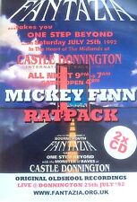 FANTAZIA ONE STEP BEYOND 1992  - 2 X CD PACK OLDSKOOL DJ MICKEY FINN RATPACK NEW