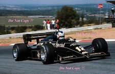 Nigel Mansell Lotus 95T South African Grand Prix 1984 Photograph 1