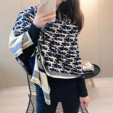 UK Womens Designer Winter Cape Shawl Thick Scarf Knitted Pashmina Wrap Xmas Gift