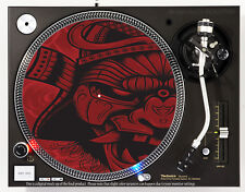 SAMURAI DEMON - DJ SLIPMAT 1200's or any turntable, record player