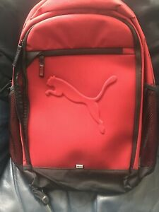 Puma Buzz Backpack Red Dalia Back To school New With Tags