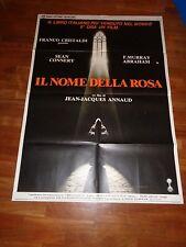 MANIFESTO,IL NOME DELLA ROSA,Name of the Rose Annaud.Sean Connery Umberto Eco