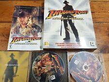 PC Indiana Jones y la máquina infernal primera edición española completo
