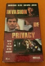 Invasion of Privacy VHS OOP Vidmark Home Video Jonathon Schaech Mili Avital