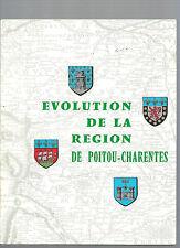 Regards sur la France N°69 Juil 1971 Evolution de la région Poitou-Charentes @@