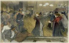 "1897 original lithograph L'Estampe Moderne ""Bal de Barriere"" by T. A. Steinlen"