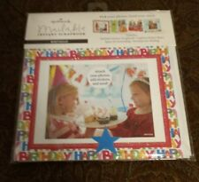 "Hallmark Mailable Instant Scrapbook 7.5"" X 5.5"" Birthday - NEW - FREE SHIPPING"