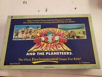 Vintage Board Game Captain Planet COMPLETE University Games