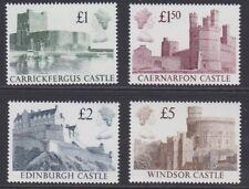 GB EII 1988 Castles high value set sg1140-1143 MNH