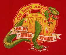 """Tourist Trap"" Jurassic T-Rex Men's XXXL Shirt Teefury"