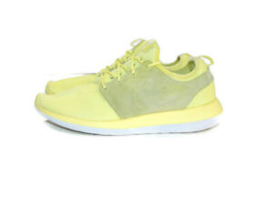 Nike Sneakers Yellow White Roshe Two Breathe BR Lifestyle Low Mens 11.5 898037