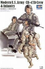 Trumpeter 1/35 moderno US Army CH-47D Crew e infantería # 00415