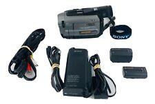 Sony Handycam Vision CCD-TRV72 8mm Video 8 HI8 Camcorder 30x Digital Zoom