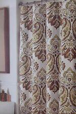"""Valerie Bertinelli Paisley Fabric Shower Curtain 72"""" x 72"""" NIP"""