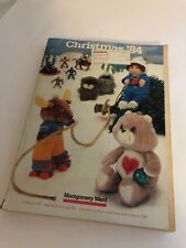 Vintage 1984 MONTGOMERY WARD Christmas Catalog Barbie Star Wars Atari Train Bike