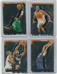 90'S INSERTS LOT (4/15) 1995-96 FLEER METAL FRESHLY FORGED HILL CAMBY RC 1:24