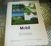 Mobil Gas Master Plan 1990-2010 Book Mobil Technical Center Hopewell NJ
