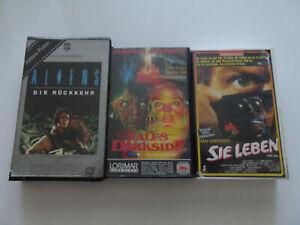 Aliens / Tales from the Darkside III / Sie leben - VHS Sammlung