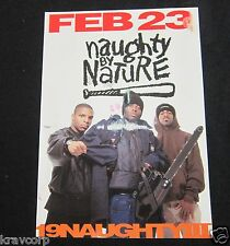 NAUGHTY BY NATURE—1993 PROMO POSTCARD