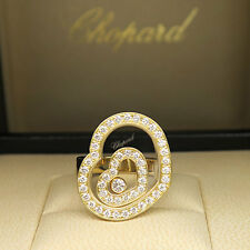 Chopard Ring Happy Spirit mit 0,86ct Brillant FC in 750/18K Gelbgold UVP. 9230,-
