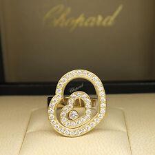 Chopard anillo Happy Spirit con 0,86ct brillante FC en 750/18k dorado PVP 9230,-