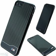 BMW M Real Carbon Fiber iPhone 7 Plus, 6 Plus Custodia rigida back cover guscio protettivo