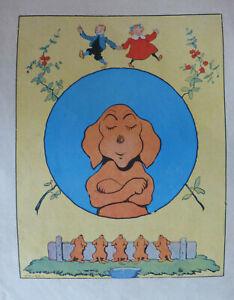 Benjamin Rabier - Les mésaventures d'un chien (Tallandier 1907)