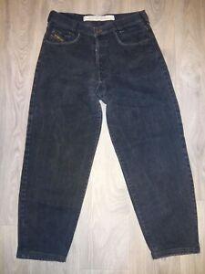 Diesel Saddle Jeans - Schwarz - Gr. 34