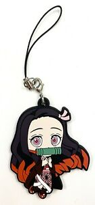 Demon Slayer Anime Vol.2 Capsule Rubber Keychain Charm Nezuko Kamado @16028