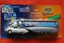 TRUCK semi remorque MERCEDES COLANI 1/87 transport CALGONIT neuf blister :GRELL