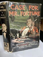 1932 Case For Mr. Fortune  by H. C. Bailey