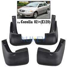 FRONT REAR FIT FOR TOYOTA COROLLA 2002~2005 MUD FLAP FLAPS SPLASH GUARD MUDGUARD