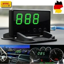 Auto GPS HUD Head Up Display Tachometer Geschwindigkeit Speed Warning System DHL