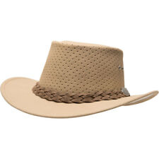 c894d5b4330 Aussie Chiller Bushie Perforated Hats Beige Large
