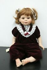 "Fayzah Spanos 24"" Signed Limited 809/1250 Hard Vinyl Girl Doll"