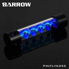 Barrow T-Virus Acrylic Blue Helix Watercooling Reservoir 255mm - Black
