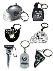 OAKLAND RAIDERS NFL FOOTBALL KEYCHAIN BACKPACK PULL  LICENSED  - YOU CHOOSE