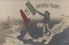 LIBYA ITALY VIVA TRIPOLI ITALIANA REAL PHOTO 3448.5