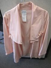 Armani Collezioni-Pinky peach-size 12 parka rainjacket