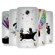 Cover e custodie multicolore in silicone/gel/gomma per cellulari e palmari Motorola
