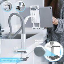 ipad,cell phone Gooseneck Tablet Holder Flexible Arm Clip Tablet Mount