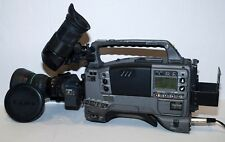 Panasonic AJ-D610WBP with Canon J15AX8B4 IRS SX12 Lens and V mount battery #2