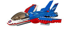 LEGO MARVEL SH 76076 - CAPTAIN AMERICA'S JET ONLY - NO MF, NO BOX - NEW LOOSE