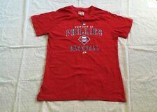 Philadelphia Phillies T-Shirt Mens Large Majestic Authentic MLB Red Phils Shirt