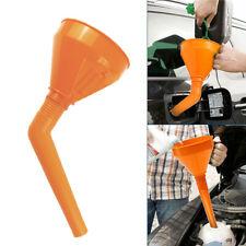 1x Large Detachable Flexible Car Oil Water Funnel Petrol Diesel Spout w/ Filter