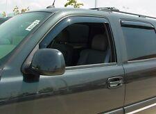 4-Piece In-Channel Wind Deflectors for 2002 - 2006 Cadillac Escalade ESV