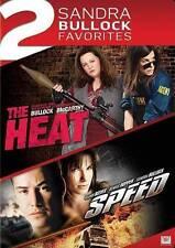 Sandra Bullock Double Feature: The Heat/Speed DVD 2-Disc Set-Free Same Day Ship