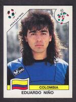Panini - Italia 90 World Cup - # 288 Eduardo Nino - Colombia